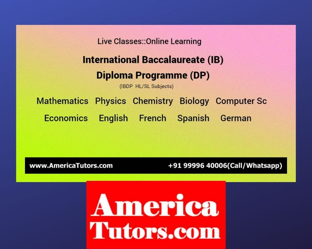 AmericaTutors.com Tutor Tuition Teacher Math Science